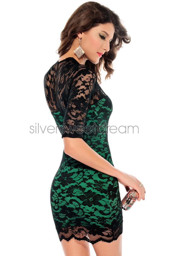 Vestito Pizzo Nero Abbinamento ~ Vestito nero in pizzo h m su abiti da  sposa italia f34204a6b50